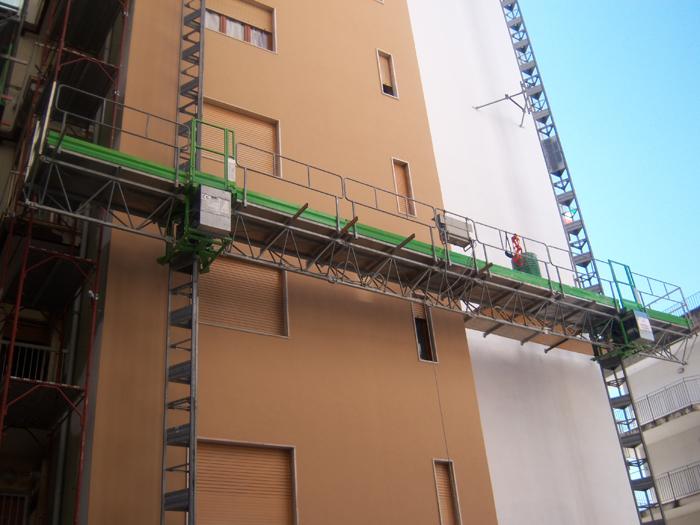 Noleggio installazione ponteggi edili mobili Veneto